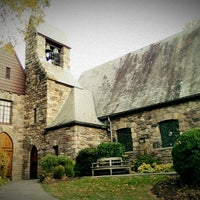 Photo taken at Union Church of Pocantico Hills by Maryana K. on 10/20/2013