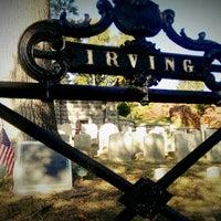 Photo taken at Washington Irving's Grave by Maryana K. on 10/20/2013