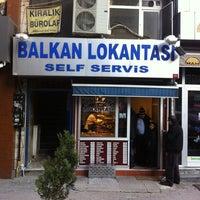 Photo taken at Balkan Lokantası by H.K F. on 2/5/2014