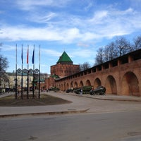 Снимок сделан в Нижегородский кремль пользователем Andrey E. 4/24/2013