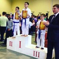 Photo taken at Детско-юношеский клуб боевых искусств by Katherine on 11/8/2015