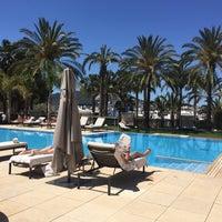 Foto tomada en Aguas de Ibiza Lifestyle & Spa Hotel por Jessica V. el 5/14/2017