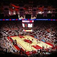 Photo taken at Bud Walton Arena by Justin C. on 12/1/2012