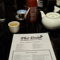 Photo taken at Pho Doan (Vietnamese Noodle & Grill) by Larry M. on 5/6/2013