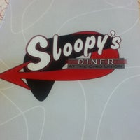 Photo taken at Sloopy's Diner by Rachel S. on 12/11/2012