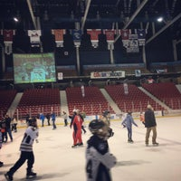 Photo taken at Herb Brooks Arena by Ezri S. on 1/26/2017