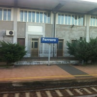 Photo taken at Stazione Ferrara by Roy M. on 12/3/2012