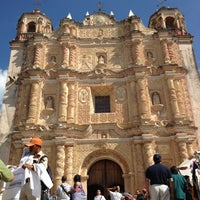 Photo taken at Iglesia De Santo Domingo by Patricia P. on 12/28/2012