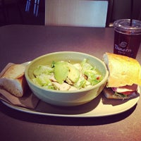 Photo taken at Panera Bread by Cecilia Z. on 10/3/2012