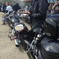 Photo taken at Lake Shore Harley-Davidson by Andres R. on 5/5/2013