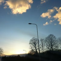 Photo taken at N225 afslag Wageningen by Susan L. on 3/13/2013