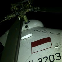 Photo taken at MK2 Helicopter Hangar (Ae) PT. DI by Dody W. on 2/12/2013