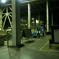 Photo taken at MK2 Helicopter Hangar (Ae) PT. DI by Dody W. on 11/21/2012