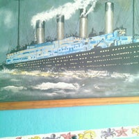 "Photo taken at marisqueria ""el Titanic"" by Joe Alejandro Q. on 7/29/2013"