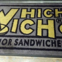 Photo taken at Which Wich Superior Sandwiches by Magpie T. on 10/26/2013