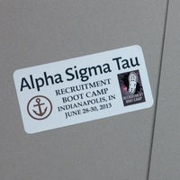 Photo taken at Alpha Sigma Tau Recruitment Boot Camp by Justina on 6/27/2013