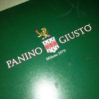 Photo taken at Panino Giusto by Laura B. on 4/17/2013