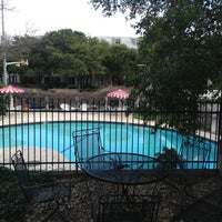 Photo taken at Austin Motel by Mario D. on 2/6/2013
