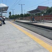 Photo taken at Cevizlibağ - A.Ö.Y. Tramvay Durağı by Hacer Y. on 7/11/2013