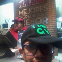 Photo taken at Papa John's Pizza CDMX - Leones by Ered🎶 G. on 12/27/2015