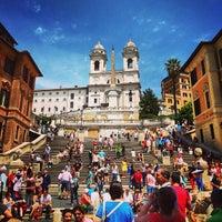 Foto scattata a Piazza di Spagna da Mild J. il 6/8/2013