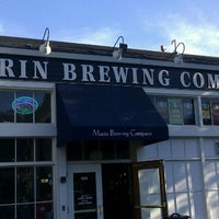 Photo taken at Marin Brewing Company by Mark B. on 9/24/2012