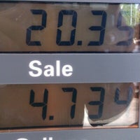 Photo taken at Chevron by Mark B. on 9/21/2012
