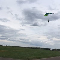 Photo taken at Skydive PCV Schaffen by Dotje B. on 4/28/2018