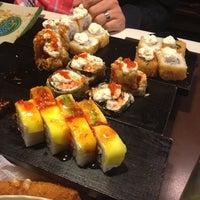 Photo taken at Nuvo Sushi by Mayra C. on 2/9/2013