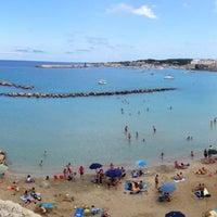 Photo taken at Lido di Otranto by Christian M. on 7/28/2014