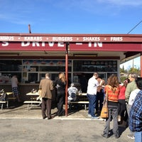 Photo taken at Falafel's Drive-In by Dorothy S. on 2/24/2013
