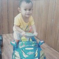 Photo taken at Hotel Mahkota PangkalanBun by Tri S. on 3/18/2016
