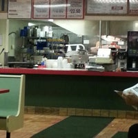 Photo taken at Brighton Hot Dog Shoppe by Joshua C. on 11/15/2012