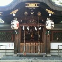 12/23/2012にゆきえが晴明神社で撮った写真
