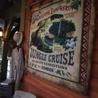Photo taken at Jungle Cruise by Sakurakozy on 12/16/2014