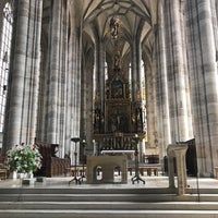 Photo taken at Münster St.Georg Dinkelsbühl by Ai S. on 7/22/2017