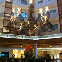 Photo taken at Hotel Green Park by Rohan C. on 1/6/2013