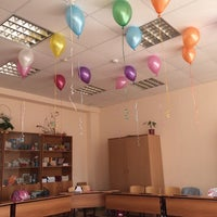 """Photo taken at Школа """"Эврика"""" Им. Михаила Нагибина by In K. on 9/12/2014"""