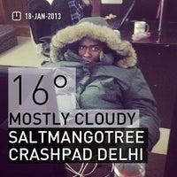 Photo taken at Saltmangotree Crashpad Delhi by Andrine M. on 1/17/2013