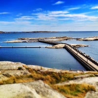 Photo taken at Restaurant Verdens Ende by Nicholas M. on 8/21/2013