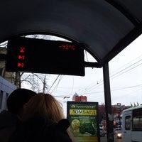 Photo taken at Остановка «Московский вокзал» by Paul F. on 3/28/2015