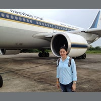 Photo taken at Wing7 Surat Thani by Rose M. on 5/17/2013
