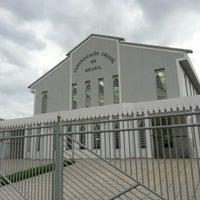 Photo taken at Congregação Cristã No Brasil by Gilberto T. on 12/15/2012