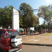 Photo taken at Praca Santos Dumont by Gilberto T. on 3/10/2013