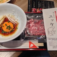 Photo taken at 焼肉レストラン 一心亭 五所川原店 by yamadax on 4/5/2014
