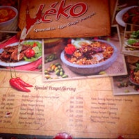Photo taken at Warung Léko by Like R. on 12/29/2012