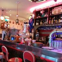 Photo taken at Le Fil Rouge Café by Olivier P. on 11/19/2013