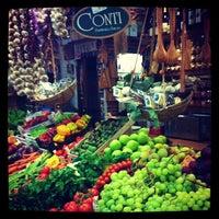 Photo taken at Mercatino di San Lorenzo by Mariya S. on 7/24/2013