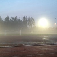 Photo taken at South Surrey Athletic Park by Andrew H. on 1/20/2013