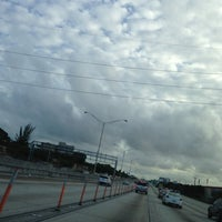 Photo taken at Interstate 95 & 95th Street by 🙏Mi'Chell Q. on 12/8/2012